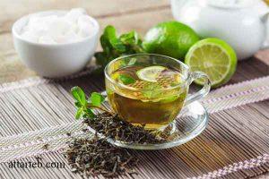 سم زدایی بدن با چای سبز