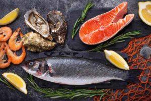 غذای دریایی در کتو